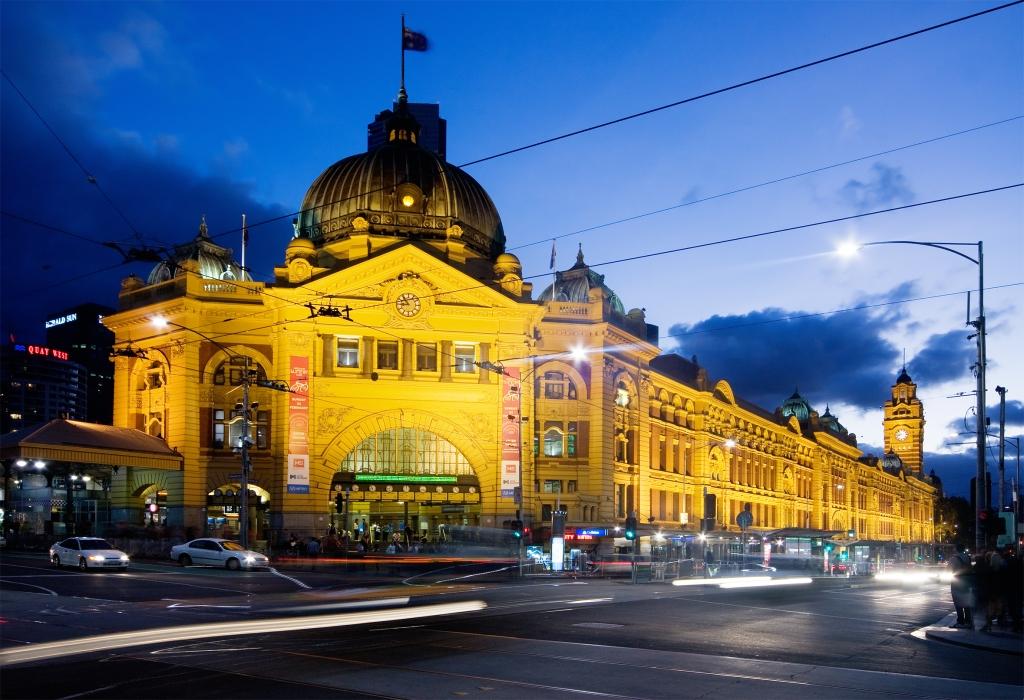 Flinders_Street_Station_Dusk